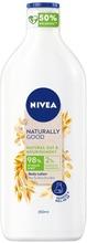 Nivea 350Ml Naturally Good Oat Milk Body Lotion -Vartaloemulsio