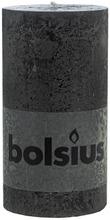 Bolsius Rustiikkikynttilä 68X130 Cm Musta