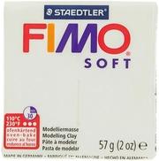 Nellen Fimo Soft Muovailumassa Valkoinen 57G