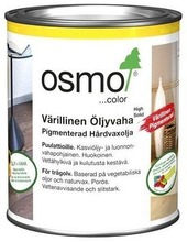 Osmo Color Värillinen Öljyvaha, 3072 Punatammi 750 Ml