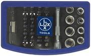 Lux-Tools Kärkisarja 34-Osainen Classic