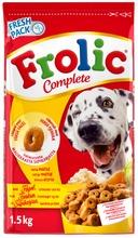 Frolic Complete Siipikarjaa, Kasviksia Ja Riisiä 1,5Kg