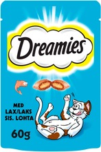 Dreamies Lohi 60G