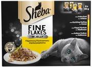 Sheba Delicacies Siipikarjalajitelma Hyytelössä 8X85g