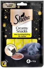 Sheba Creamy Snacks Kanaa 4X12g