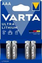 Varta Ultra Lithium 4Xaaa Litiumparisto