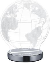 Trio Globe Pöytävalaisin Kromi