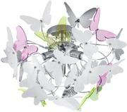 Trio Kattovalaisin Butterfly 45 Cm Kromi/Moniväri