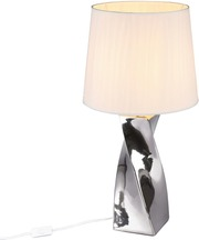 Trio Abeba 68 cm hopea pöytävalaisin
