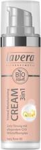 Lavera Trend Sensitiv Tinted Moisturising Cream Sävyttävä Kosteusvoide Q10 30Ml Ivory Rose 00