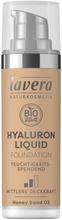 Lavera Hyaluron Liquid Foundation Meikkivoide 30 Ml - Honey Sand 03