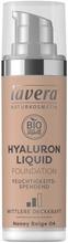 Lavera Hyaluron Liquid Foundation Meikkivoide 30 Ml - Honey Beige 04