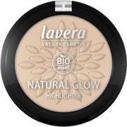 Lavera Natural Glow Highlighter Korostuspuuteri 4,5 G - Luminous Gold 02