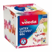 Vileda Latex Gloves 60...