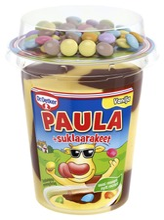 Dr. Oetker Paula Vanilja-Suklaa Vanukas  Suklaarakeet 125G