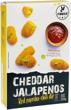 Feel Good Food Cheddar Jalapenos Ja Dippi 250G