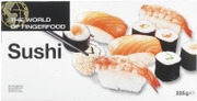 Dencon Foods The World Of Fingerfood Sushi 10X225g, 2,25 Kg/Ltk, Pakaste