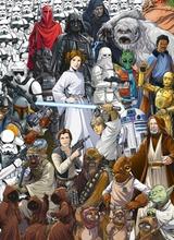 Komar Valokuvatapetti Star Wars 4-4111, 4-Osainen 184X254