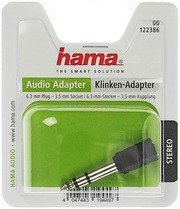 Hama Audiosovite 3,5Mm...