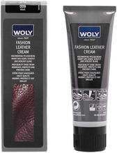 Woly Fashion Leather Cream Kenkävoide Musta 75Ml