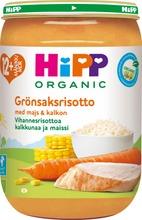 Hipp 220G Luomu Vihannesrisottoa & Kalkkunaa 12Kk