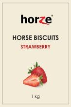 Horze Horse Biscuits - Mansikka