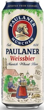 Paulaner Weissbier Munich Wheat Beer 5,5% 0,5L Oluttölkki