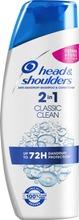 Head&Shoulders 225Ml Classic Clean 2In1 Shampoo