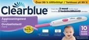 Clearblue 10kpl Digital ovulaatiotesti
