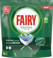 Fairy 84Kpl Original All In One Astianpesuainetabletti