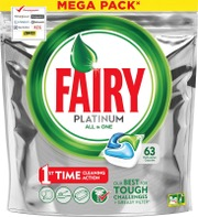 Fairy 63kpl Platinum All in One Original astianpesuainetabletti