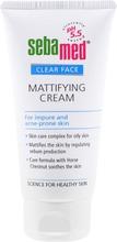 Sebamed 50Ml Clear Face Mattifying Cream Puhdistusvoide