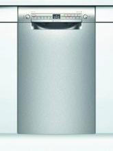 Bosch Serie 2 Astianpesukone Työtason Alle Sijoitettava 45 Cm Teräs/Hopea