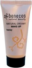 Benecos Natural Creamy Make-Up - Meikkivoide Honey 30Ml