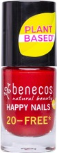 Benecos Happy Nails Nail Polish - Kynsilakka Cherry Red 5Ml