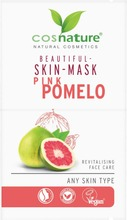 Cosnature Beautiful Skin Mask Pink Pomelo - Kasvonaamio Pomelo 2 X 8Ml