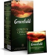 Golden Ceylon Musta Tee