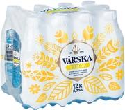 12Xvärska Lemon, Sitruunanmakuinen Mineraalivesi, Hiilihapollinen 0,35L Pack Pet