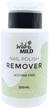 Wild&Mild 200Ml Pump Acetone Free Kynsilakanpoistoaine