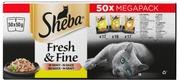 Sheba 50X50g Fresh&Fine Siipikarja Kastikkeessa