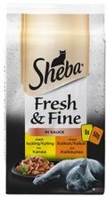 Sheba Fresh&Fine Siipikarjalajitelma Kastikkeessa 6X50g