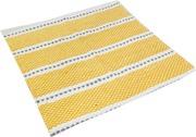 House Puuvillamatto Raja 70 X 150 Cm Keltainen