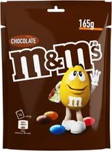 M&M's 165G Choco Maitosuklaata Rapealla Sokerikuorella