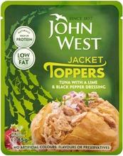John West Tonnikalaa Lime-Mustapippurikastikkeessa 85G