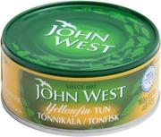 John West Yellowfin Tonnikalaviipaleita Auringonkukkaöljyssä 160G/112G