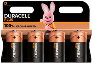 Duracell 4Kpl Plus Power D Alkaliparisto