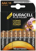 Duracell Plus Power Aaa Alkaliparisto 16Kpl