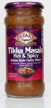 Patak's Tikka Masala Hot And Spicy Kastike 350G
