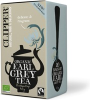 Clipper Luomu Earl Grey Tee 40G / 20 Pussia