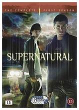 Supernatural 1. Tuotantokausi 6Dvd